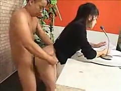 Japanese whore taking facials