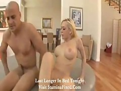 Blonde with nice big tits is a great lay2