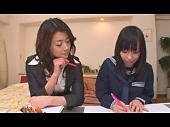 Japanese lesbian teacher and student 1