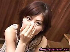 Ran Monbu Japanese Model Gives Sensual Part5