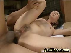 Cute Asian Babe In Hot Gang Bang Anus Part4