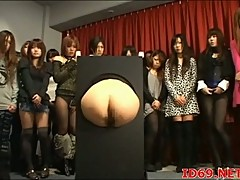 Japanese butts demonstrations