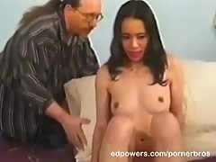 Hot asian loves pussy licks and hot facials