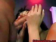 Asian does anal and rimming