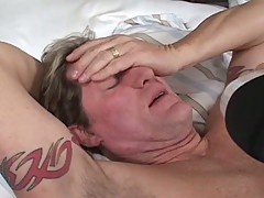Cute asian nurse takes care of her patient