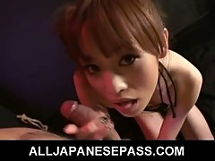 Hot japanese babe miina yoshihara 69 and rimming