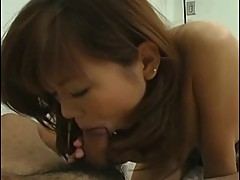 Japanese schoolgirl with big tits gets take up with the tongueed