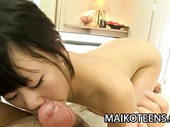 Japanese teen babe yuka kojima fucks some white toy