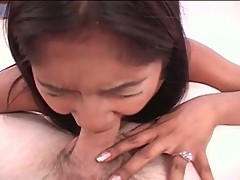 Lovely asian gets first time fuck