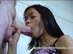 Lucy Filipino Amateur Teen Facialized