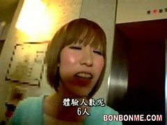 Elevator russian roulette-teen be molested by sextoy