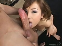 Tia plays the obedient oriental fuck slut