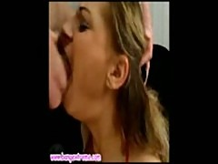 Whore throat damaged until she pukes hard