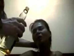 Thai girl gets the rough treatment