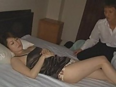 Matured Japanese Gets Pussy Licked And Fucked Wild