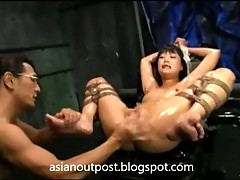 Creamy, squirty and teasy - japanese bdsm