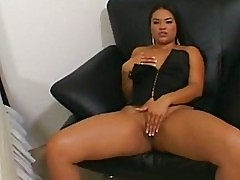 Horny Asian Ashley Marie getting the flesh pipe layed deep i...