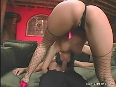 Hot Slut Katsuni Rides A Huge Cock And Receives A Messy Facial