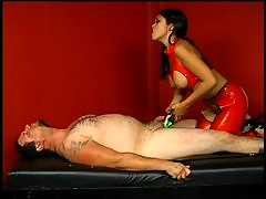 Dominant Asian Slut Mika Tan Pours Hot Wax On a Submissive Males Body