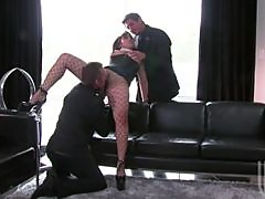 Insatiable Busty Asian Mika Tan Goes From Lesbian To Hot MMF Threesome