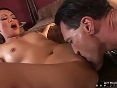 Mya Luanna love the deep tongue drill in her cunt