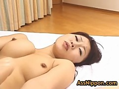 Amazing rei himekawa gets fucked in the a ...