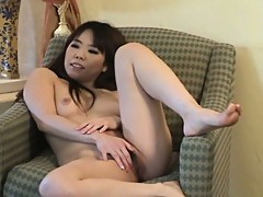 Oriental chick tomo strips by the fire