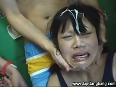 Hot asian gets fucked hard after blowjob