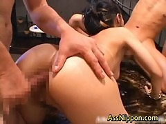 Beautiful Japanese Teen Gets Her