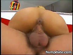 Skinny Asian moans while she gets fucked hard
