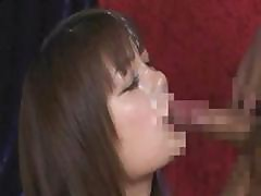 Japanese Girl Facial Compilation 2