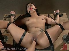 Sexy Asian Babe Gets A Bit Femdom Action From A Redheaded Hottie