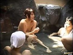 Hot Japanese Babe In A Mens Spa