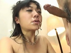 Super playgirl drenched in cum