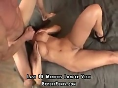Muscular man gives Lisa Ann the fuck of a lifetime2