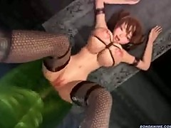 3D girl gets fucked by monsters