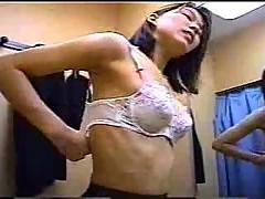 Changing room - asian girl