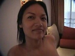 Apple sweet filipina sucks & fucks in hotel room